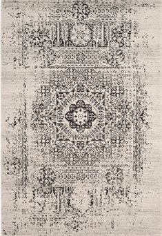 Shop the Rug - Color: Ivory, Black; Size: x by Safavieh. This Power-Loomed Ivory, Black rug has a pile_height, perfect for a soft yet durable addition to your home. Carpet Decor, Diy Carpet, Modern Carpet, Shag Carpet, Beige Carpet, Carpet Ideas, Baldwin Park, Polypropylene Rugs, Transitional Rugs