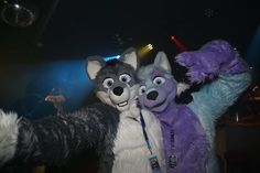 Just being super happy with my good friend Arco Fluffypaw at #EagleFurdance last year :') It was such a trip with him together when we drove through the old holiday location where I've been as a child -