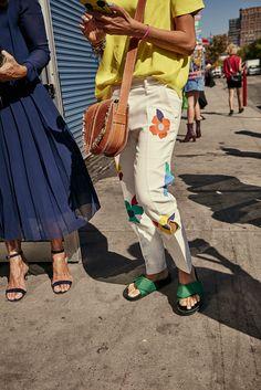 Street Style NYFW Primavera Verano 2017 los looks de las modelos e invitadas…