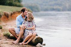 Lake Engagement Photos at Melton Hill Park, River Engagement Photos, Lake Engagement Photos, Wedding Photographers Knoxville | Erin Morrison Photography…