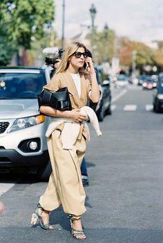 15 x 20 Street Style 2016, Spring Street Style, Street Style Women, Spring Summer Fashion, Street Chic, Street Styles, Paris Fashion, Love Fashion, Fashion 2016