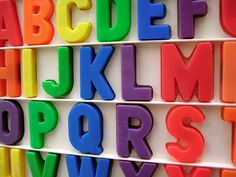 Fisher Price alphabet letter magnets - these are STILL all over my grandparents' fridge! My Childhood Memories, Childhood Toys, Great Memories, Retro Toys, Vintage Toys, Brinquedos Fisher Price, Kitsch, Magnetic Alphabet Letters, Nostalgia
