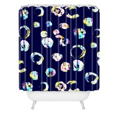 CayenaBlanca Drops of color Shower Curtain | DENY Designs Home Accessories
