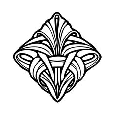 art deco coloring pages free coloring kids coloring pages