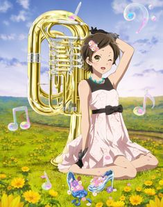 Kyoto Animation Shop Goes Big And Brassy With Hazuki Katou Sound! Euphonium Birthday Concert Art