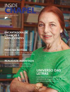 Revista Inside Chapel, uma publicação de circulação interna da escola internacional Chapel School. #design #editoração #revista