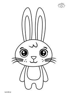 Kolorowanka Zajączek #naukarysowania #dladzieci #edusiaki #kolorowanki #krokpokroku Hello Kitty, Fictional Characters, Art, Paper, Art Background, Kunst, Performing Arts, Fantasy Characters, Art Education Resources