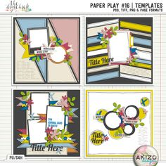 Paper Play #16 | Templates