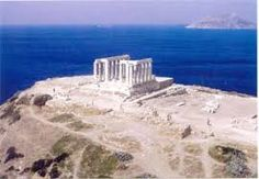 Cape Sounion Greece - Loved by Byron. He left his graffiti on some of the columns