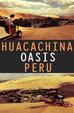 Huacachina Oasis Peru: Complete Guide - Funny Tank Tops - Ideas of Funny Tank Tops - Huacachina Oasis Peru: Complete Guide Packing List For Travel, Us Travel, Travel Plan, Packing Lists, Central America, South America, Latin America, Peru Desert, Ecuador