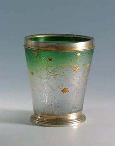 Daum Frères. Vase. C. 1892. Glass and silver. Pinacoteca Civica - Pieve di Cento - Italy