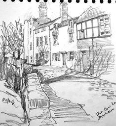 Dun Cow Lane, Durham by Willie Drea Durham, Cow, England, Cattle, English, British, United Kingdom