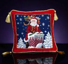 Christmas pillows are fun decor!