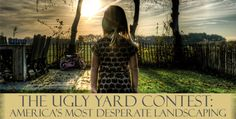 """Send us a picture of your """"Ugly Yard"""" on Facebook or Twitter using the hashtag #TheUYC to be entered to #win.  Our #Landscaping Specialist will give you specific advice to help improve it. Advice will be published over on our blog.  One lucky #winner will be chosen the first week of September to get their very own free box of #landscape edging. #contests"""