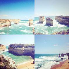 Great Ocean Road 午後は晴れてくれたので綺麗だった #australia#victoria#melbourne#greatoceanroad #travel#instatravel#travelgram#trip#instapasport#tourist#tourism#traveler#vacation#holiday#workibgholiday #メルボルン#グレートオーシャンロード by manami3425