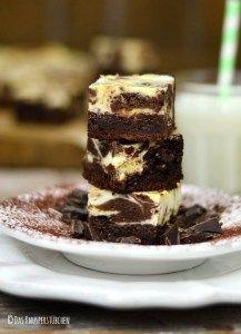Marble Cheesecake Brownies 1