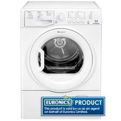 Hotpoint TCEL87B6P 8Kg Condenser Tumble Dryer Tumble Dryers, Washing Machine