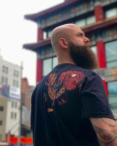- Beard Tips Bald Men With Beards, Bald With Beard, Bald Man, Great Beards, Long Beards, Awesome Beards, Hairy Men, Bearded Men, Long Beard Styles