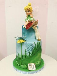 Animator Tinkerbell cake - cake by Dominique Ballard