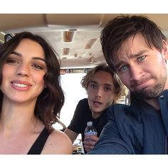 Adelaide Kane, Toby Regbo, and Torrance Coombs
