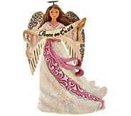 Jim Shore Victorian Collection Peace on Earth Angel Figurine - H206520