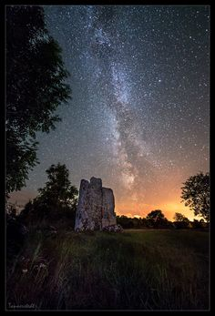Odin's raised stones by Jörgen Tannerstedt on 500px