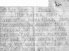 Humor: A kid about his favourite animal...