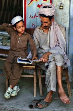 Reading in Afghanistan