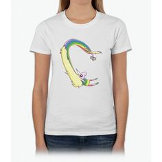 Lady Rainicorn Selfie Unicorn Womens T-Shirt