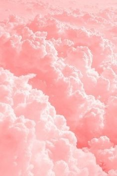 pink cotton candy clouds....