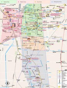 Area Map | Nagoya Info - Nagoya Travel Guide