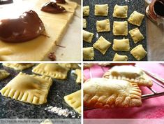 Nutella Pop Tarts - so making these!