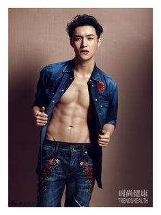 EXO Lay - TrendsHealth China Magazine July Issue '16