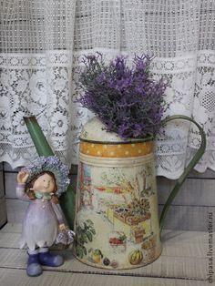 """Лейки ручной работы. Ярмарка Мастеров - ручная работа Лейка """" Provence """". Handmade."""