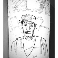 No time for a real in-depth #inktober #illustration today- so here's one of the best #Halloween movies ever. Ernest Scared Stupid! #ernest See more at http://facebook.com/abowersockdesign