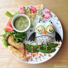 Food Art by Samantha Lee Pinned by www.myowlbarn.com