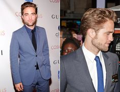 Rob Pattinson - Blue Inspiration