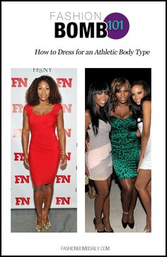 Fashion Bomb 101: How to Dress for an Athletic Body Type