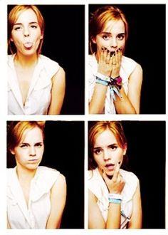 Emma Watson is adorable!