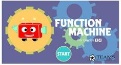 Technology Rocks Seriously: input, output, or function machines (links to 8 different resources for function machines)