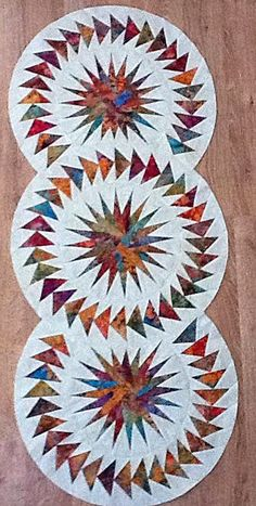 Seasonal Table Runner, Quiltworx.com, Made by Cheryl Seipke.