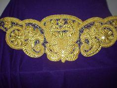 Cinturilla de red bordada en oro, para Nuestra Señora de la Esperanza
