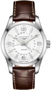 L2.799.4.76.3 LONGINES Conquest Classic GMT Men Watch