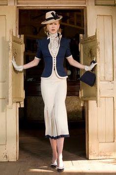 Nicole Kidman does the 30's in Australia