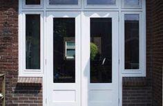 Outswing Exterior Door Home Depot - A great set of exterior doorways may be a focal point in your house. Doors And Floors, The Doors, Back Doors, Entry Doors, Wood Exterior Door, Interior And Exterior, French Doors Patio, Patio Doors, Windows