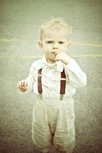 Ring bearer outfit #vintage