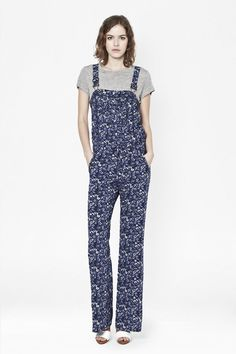 Pin for Later: Forget What You Thought You Knew About Dungarees; They're Not Just For Mechanics French Connection Marylin Printed Dungarees French Connection Marylin Printed Dungarees (£75)