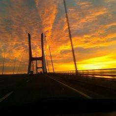 Sunrise | Ponte Vasco da Gama