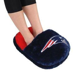 New England Patriots Team Foot Pillow
