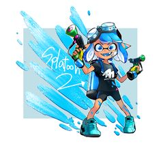 Free Coloring Pages Of Splatoon Sketch Coloring Page